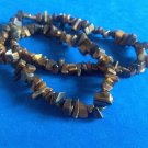 Vintage tumbled tiger eye  necklace easy on magnetic clasp!!