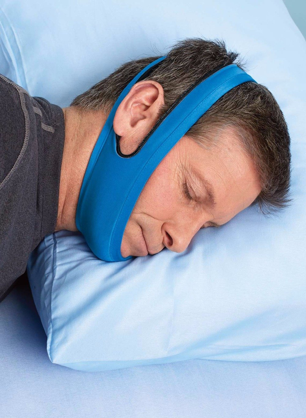 Anti Snore and Sleep Apnea chin Belt