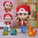 Pokemon Action Figure Toy Nendoroid Ash Ketchum Zenigame Charmander Bulbasaur