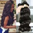 7A Grade Brazilian Virgin Hair Body Wave 3 Bundles 12, 14, and 16 inch