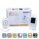 2.0 inch Color Video Wireless Baby Monitor 2 Way Talk Nigh Vision