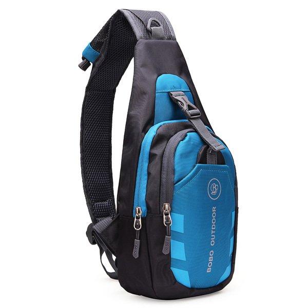 Waterproof Sport Chest Pouch Bag Shoulder Sling Bag