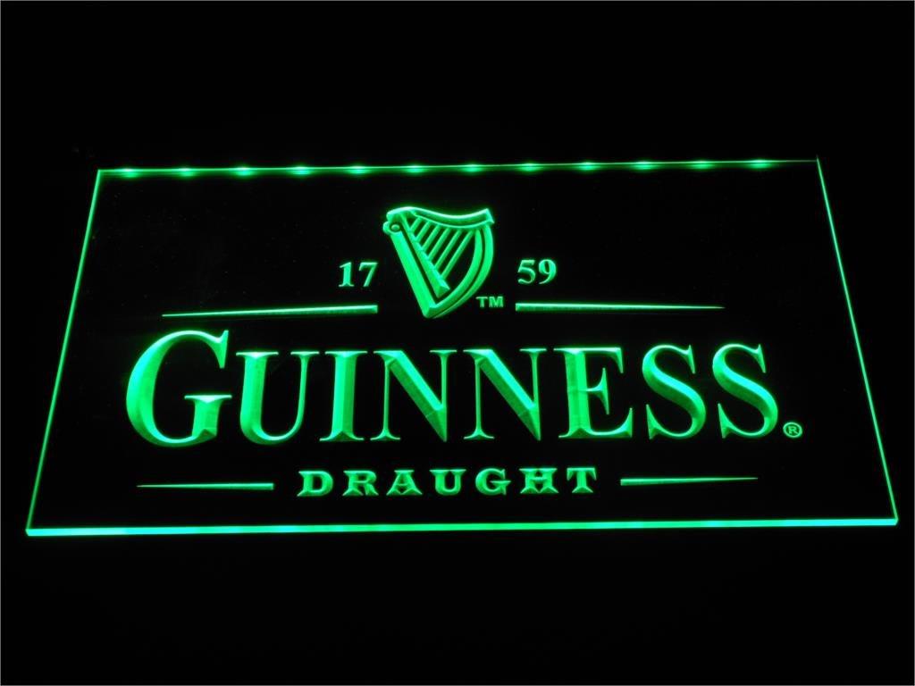 Guinness Vintage Logos Beer Bar LED Neon Sign