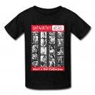 GIRL WATCHER MAGAZINE START A GIRL COLLECTION Black T-Shirt GILDAN