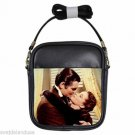 CLARK GABLE VIVIEN LEIGH GONE WITH THE WIND 2 Leather Sling Bag Small Purse