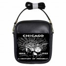 CHICAGO WORLD'S FAIR 1934 INDIAN CENTURY Beautiful Leather Sling Bag Small Purse