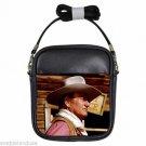 JOHN WAYNE CHISUM Leather Sling Bag Small Purse