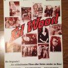 ED WOOD Plan 9 Bride Of The Monster Glen Or Glenda Original Movie Fest Poster