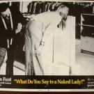 WHAT DO YOU SAY TO A NAKED LADY Laura Huston Martin Meyers Orig Lobby Card! #5