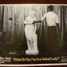 WHAT DO YOU SAY TO A NAKED LADY Joie Addison Martin Meyers Orig Lobby Card! #3