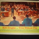 TOWN WITHOUT PITY Kirk Douglas E.G. Marshall Lobby Card