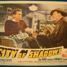 CITY OF SHADOWS John Baer Kathleen Crowley Original Lobby Card! #7