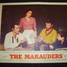 THE MARAUDERS Dan Duryea Keenan Wynn Original Lobby Card #6
