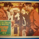 STORM OVER THE NILE Laurence Harvey Anthony Steel Original Lobby Card!