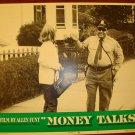 MONEY TALKS Muhammad Ali Original Lobby Card!