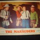 THE MARAUDERS Dan Duryea Keenan Wynn Original Lobby Card #3