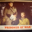 PRISONER OF WAR Ronald Reagan Steve Forrest Original Lobby Card #7