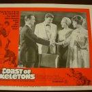 COAST OF SKELETONS Dale Robertson Richard Todd Original Lobby Card! #4