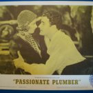 PASSIONATE PLUMBER Buster Keaton Jimmy Curante Irene Purcell Orig Lobby Card! #2