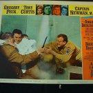 CAPTAIN NEWMAN, M.D. Gregory Peck Tony Curtis Original Lobby Card #1