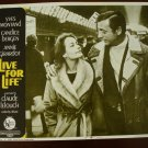 LIVE FOR LIFE Yves Montand Candice Bergen Annie Girardot Original Lobby Card! #8