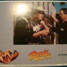 ROADIE Meat Loaf Kaki Hunter Art Carney Original Lobby Card! #5
