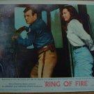 RING OF FIRE David Janssen Joyce Taylor Original Lobby Card! #2