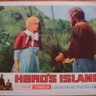 HERO'S ISLAND James Mason Neville Brand Original Lobby Card! #6
