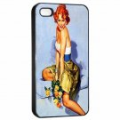 AL BUELL SEXY PIN-UP FLOWERS Apple Iphone Case for 4 4s 5 5c 5s 6 or 6 Plus PICK