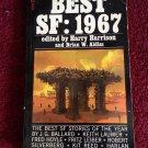 BEST SF: 1967 Harry Harrison Brian W. Aldiss SCI-FI Vintage 1968 Paperback