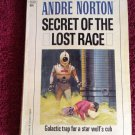 SECRET OF THE LOST RACE Andre Norton Vintage 1959 SCI-FI Paperback
