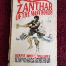 ZANTHAR OF THE MANY WORLDS Robert Moore Williams Vintage 1967 Lancer Paperback