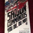 SAIGON COMMANDOS YOU DIE, DU MA! #8 Jonathan Cain Vintage 1985 Paperback 1st