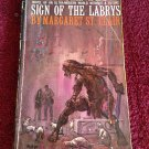 SIGN OF THE LABRYS Margaret St. Clair Vintage 1963 Paperback 1st Printing
