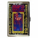 BEATLES LIVE CANDLESTICK PARK Cigarette Money Case ID Holder or Wallet!