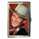 JOHN WAYNE TALL IN THE SADDLE Cigarette Money Case ID Holder or Wallet! WOW!