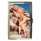 MARILYN MONROE ON THE ROCKS SEXY Cigarette Money Case ID Holder or Wallet! WOW!