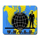 THE MAN FROM U.N.C.L.E. UNCLE LOGO Large Mousepad