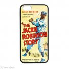THE JACKIE ROBINSON STORY BASEBALL Apple Iphone Case 4/4s 5/5s 5c 6 or 6 Plus