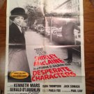 DESPERATE CHARACTERS Shirley MacLaine Kenneth Mars  Original Movie Poster
