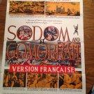 SODOM AND GOMORRAH Stewart Granger Pier Angeli Original Movie Poster