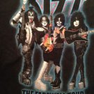 VINTAGE KISS 2000 THE FAREWELL TOUR Original XL T-Shirt Ace Frehley Gene Simmons