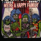 VINTAGE RAMONES WE'RE A HAPPY FAMILY TRIBUTE Original XL T-Shirt 2003
