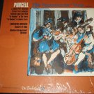 NIKOLAUS HARNONCOURT Purcell The Fantasias For 3 to 7 Viols Lp VG+ Bach Guild BG