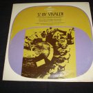 LOUIS AURIACOMBE V By Vivaldi Five Concertos Lp VG+ Seraphim S-60129 Stereo