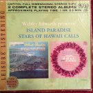 WEBLEY EDWARDS Island Paradise / Stars of Hawaii Calls Reel To Reel Tape 3 3/4