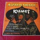 KISMET A Musical Arabian Night Alfred Drake OL-4850 LP