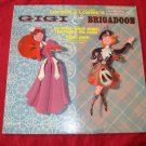 GIGI & BRIGADOON Jonny Green LPM2275 RCA LP