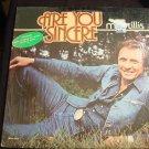 MEL TILLIS Are You Sincere Lp VG++ SHRINK MCA-3077
