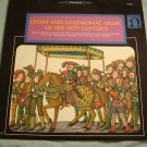 ROGER BLANCHARD ENSEMBLE Court & Ceremonial Music Of The 16th Century Lp Nonesuc